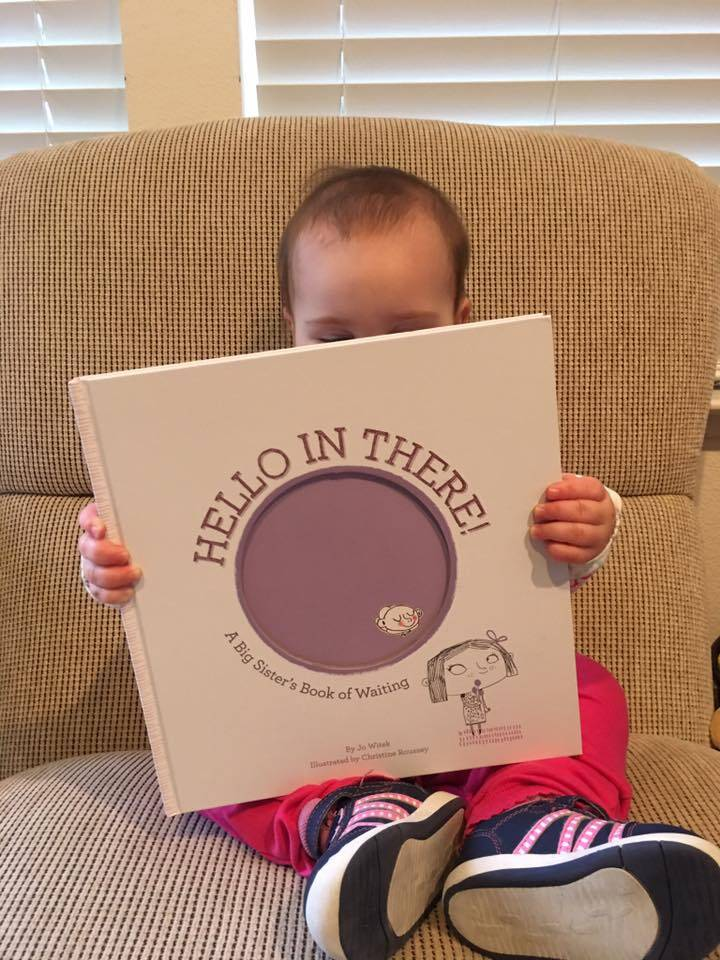 big sibling book for pregnancy announcement