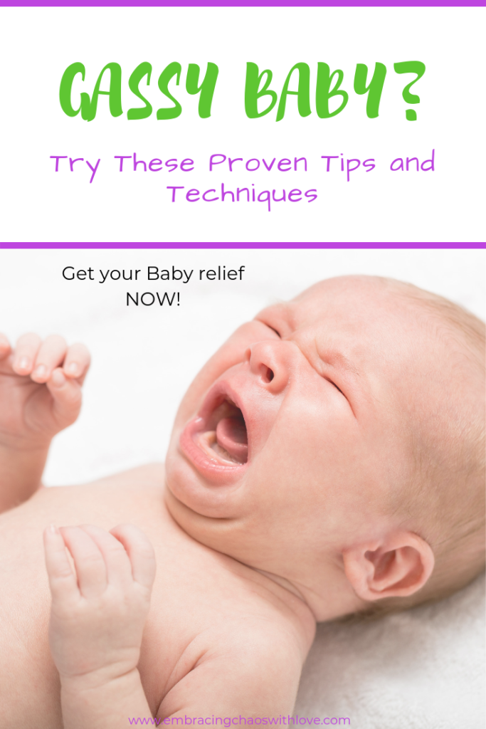 gassy baby relief