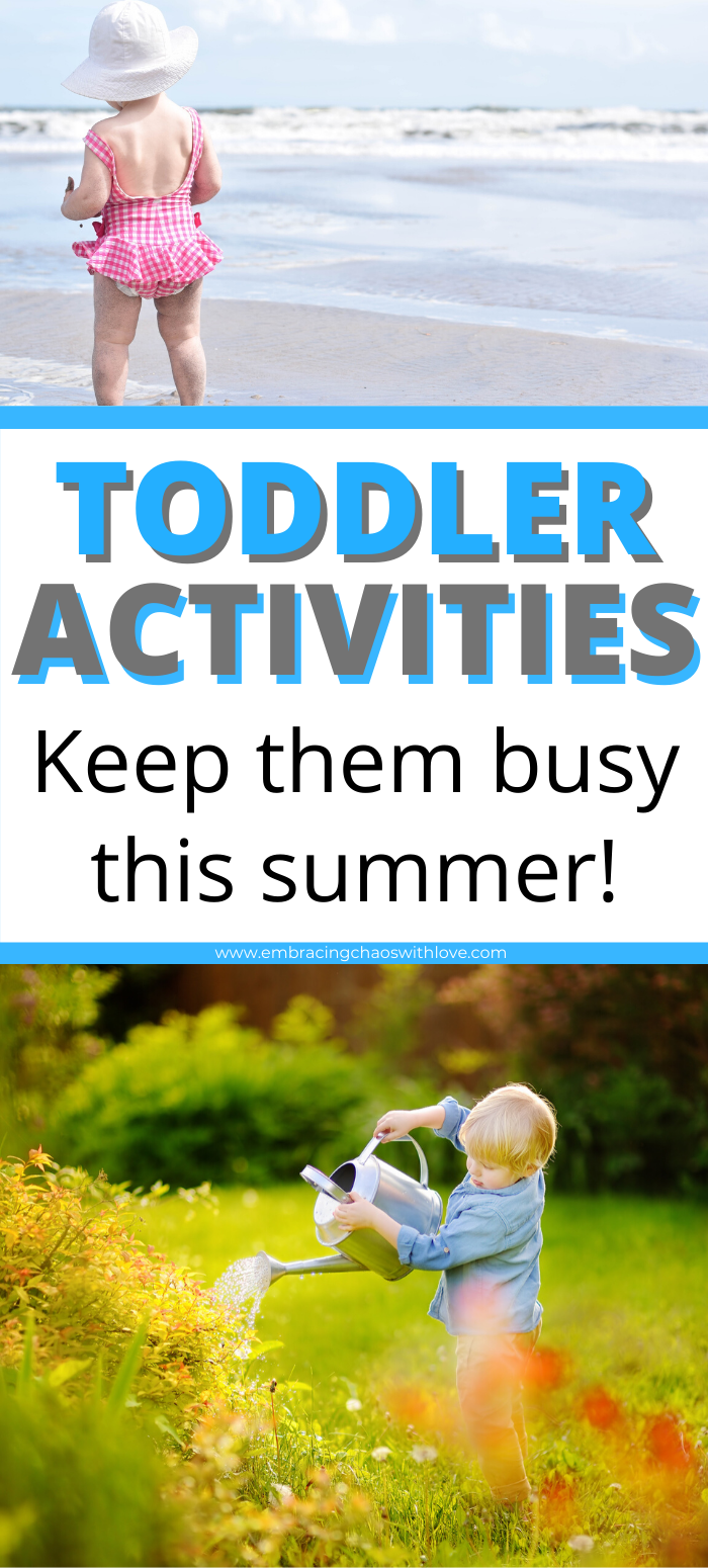 28 Activities Toddlers will Love