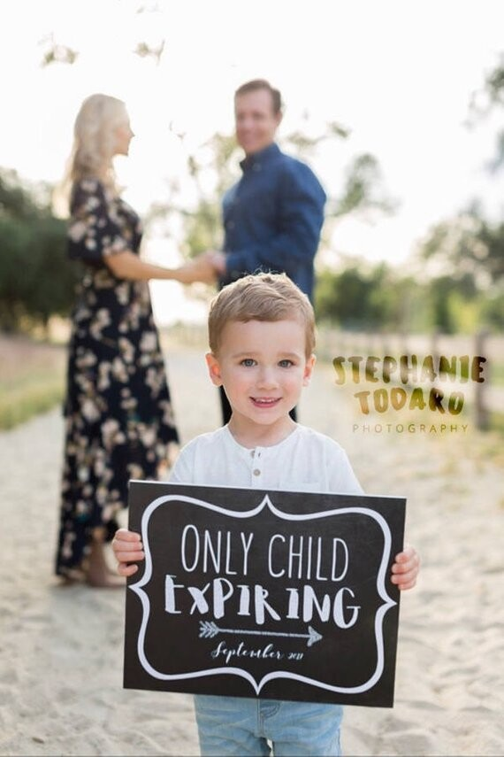 only child expiring soon sign