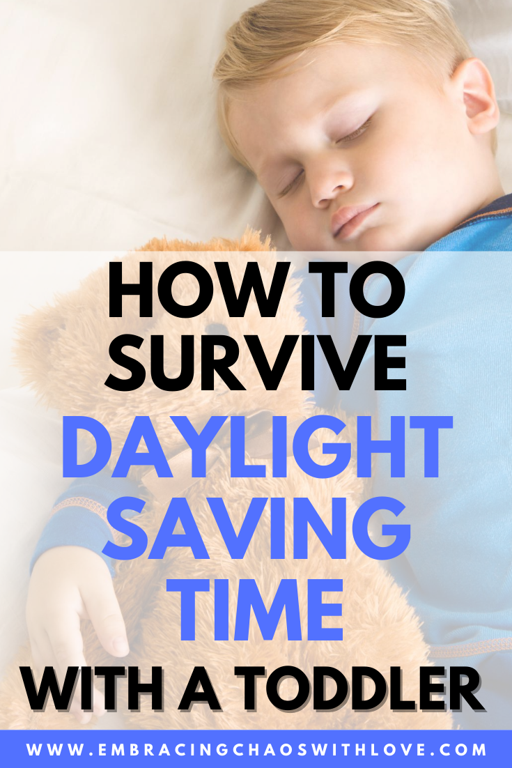 Help your Toddler Easily Adjust to Time Change