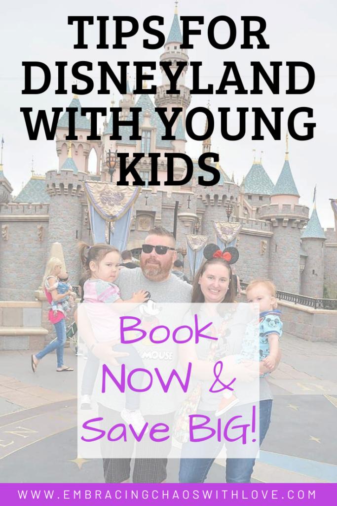 Disneyland budget tips with kids