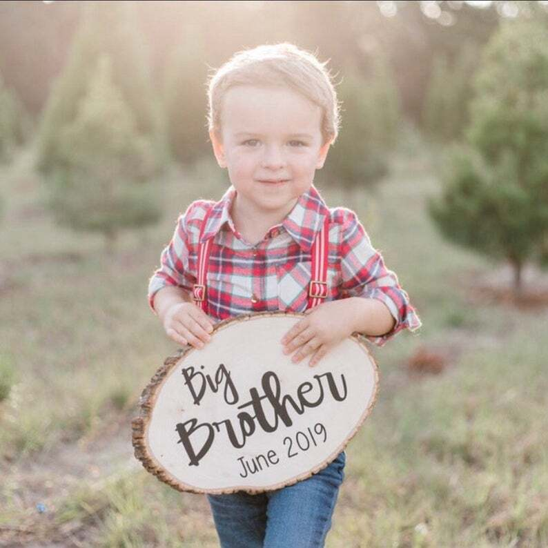 expecting baby announcement