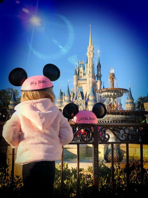 another baby announcement using mouse ear hats
