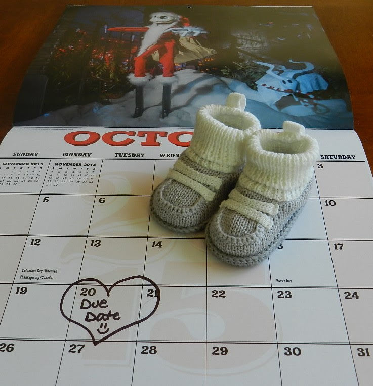 pregnancy announcement for 1st baby