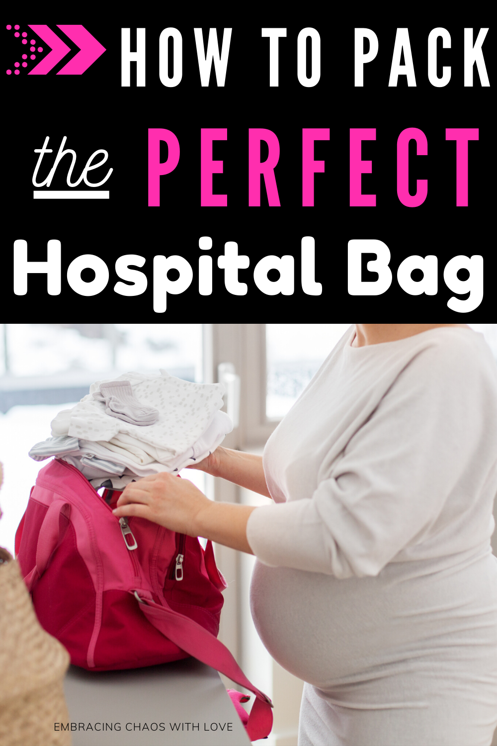How to Pack the Perfect Hospital Bag