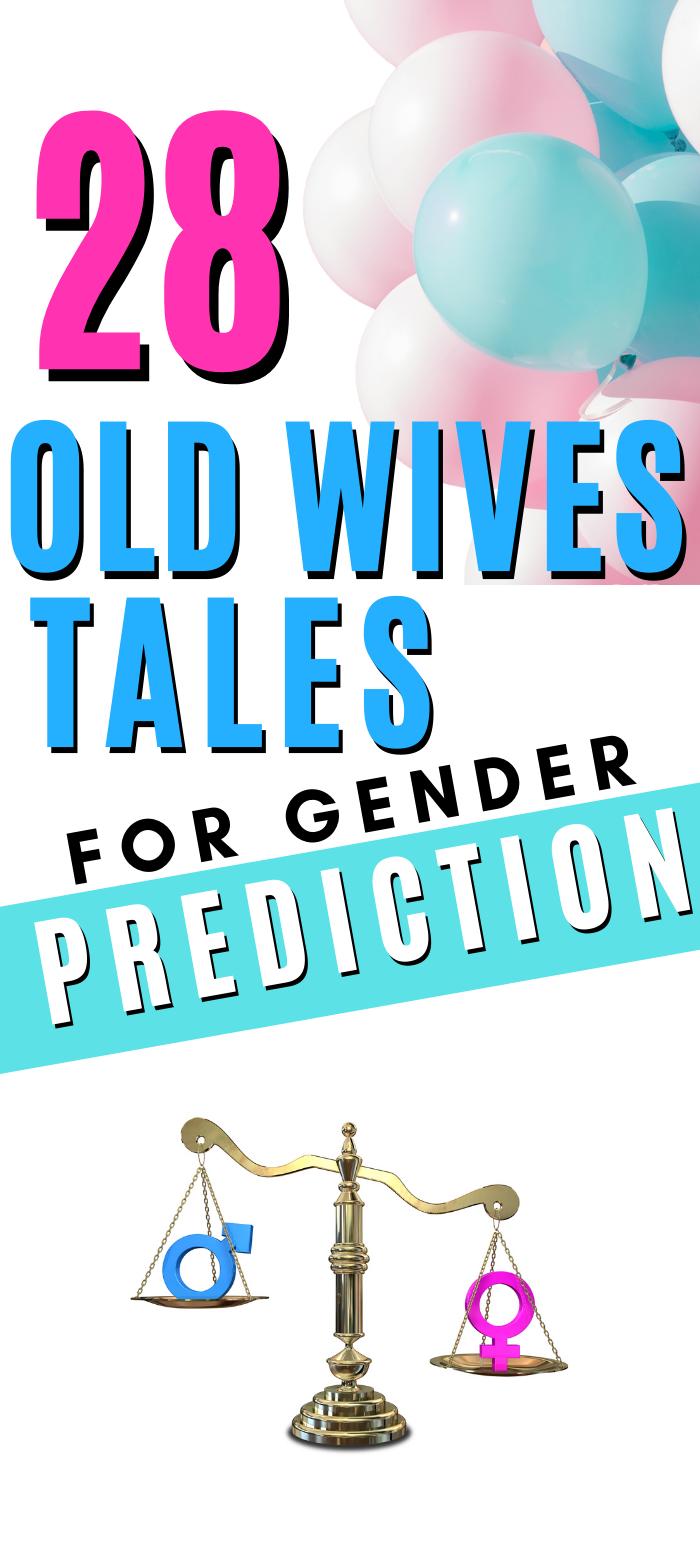 28 Pregnancy Old Wives Tales Gender Prediction