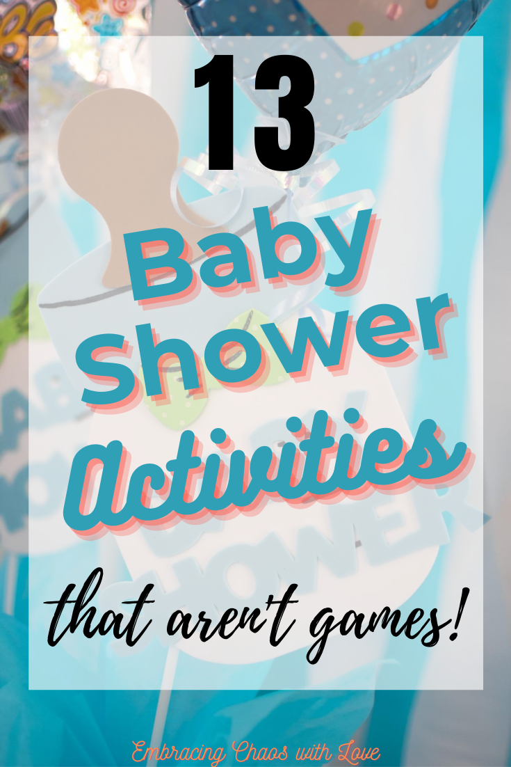 Meaningful Baby Shower Activities Mom-to-Be will Love