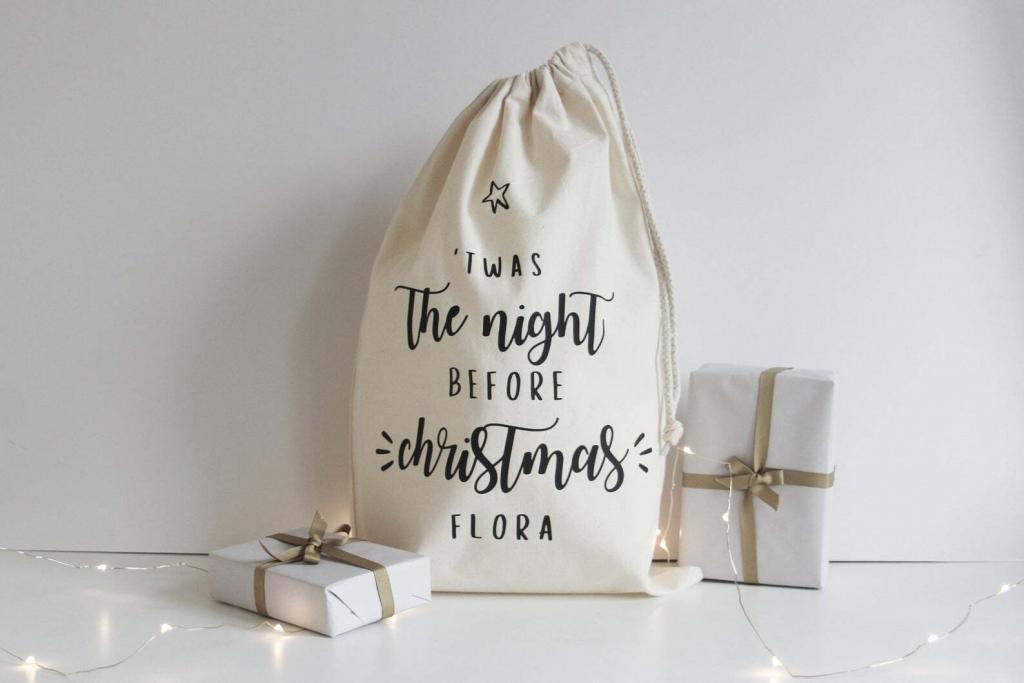 Christmas Eve gift sack