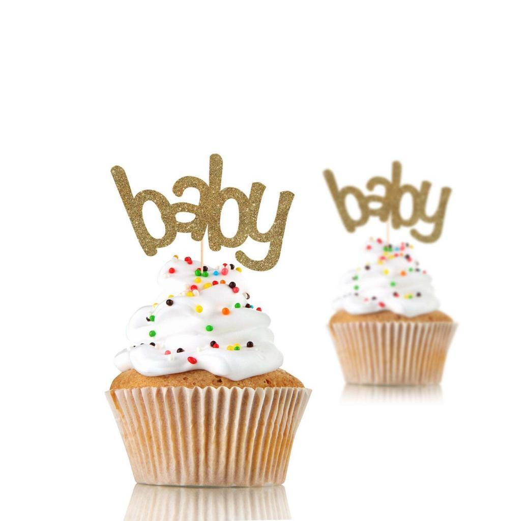 announcement for husband with cupcakes