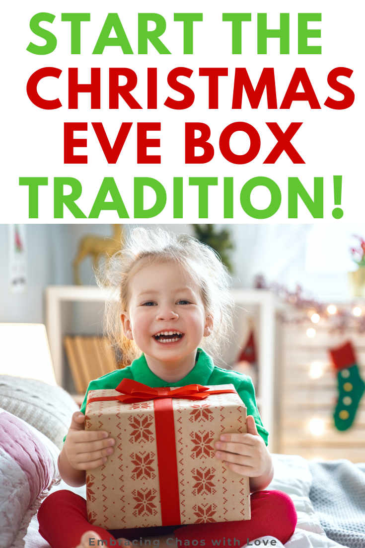 Make an Awesome Christmas Eve box for Toddlers