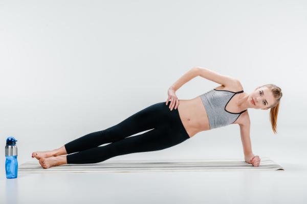 side plank exercise for Diastasis Recti