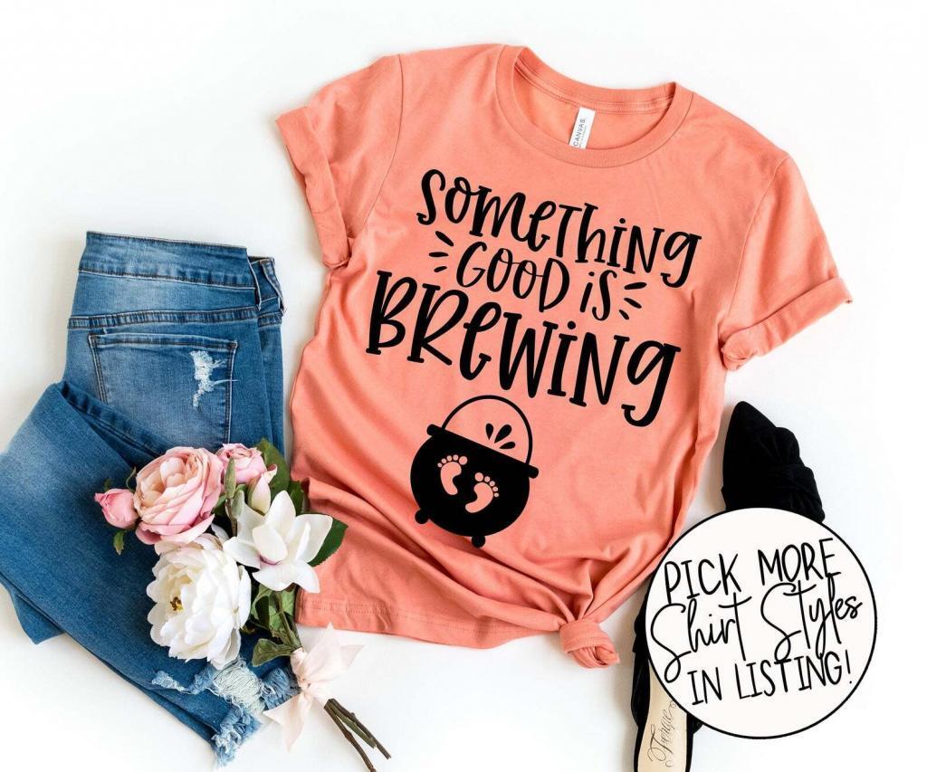 fall pregnancy announcement shirt