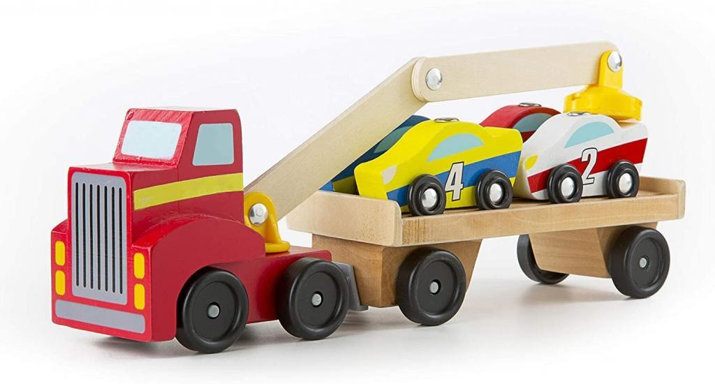 wooden tow truck flatbed