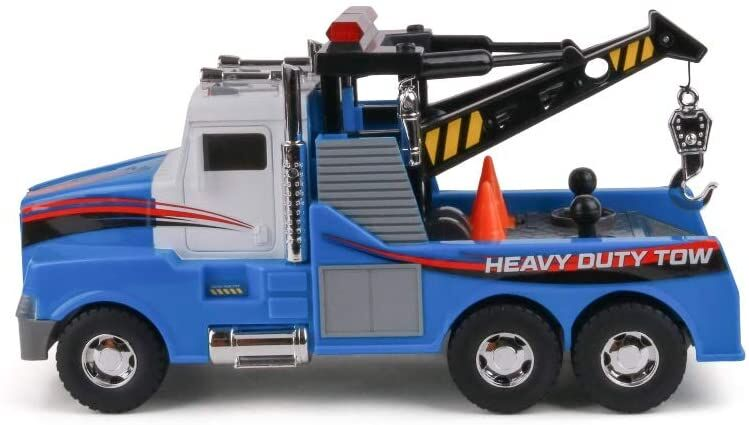 motorized tow truck