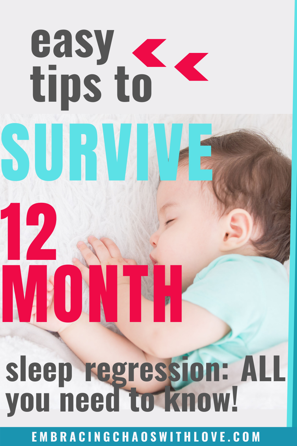 12 Month Sleep Regression: How to Survive