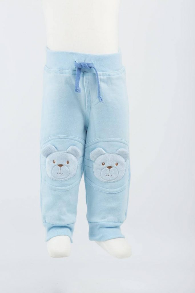 pants with protective pad on knees
