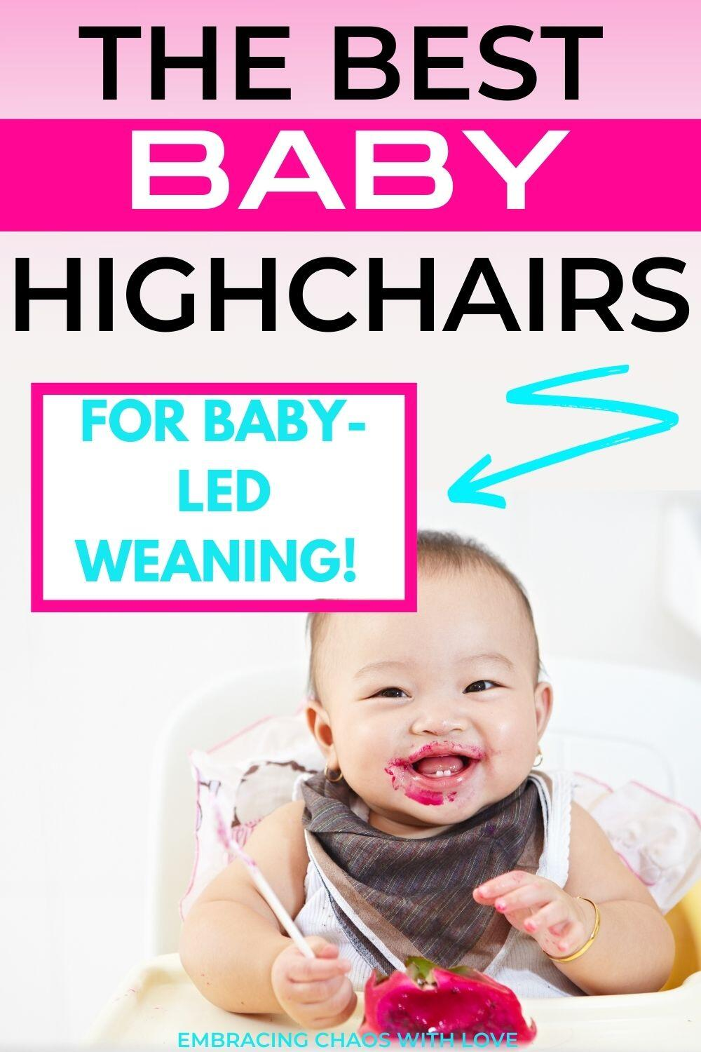 12 Best High Chairs for Baby Led Weaning (Guides and Reviews)