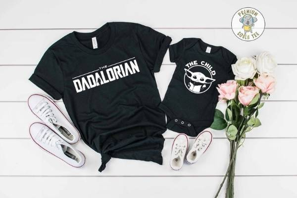 daddy and me shirts for expecting dad gift