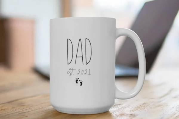 expecting dad gift new dad mug